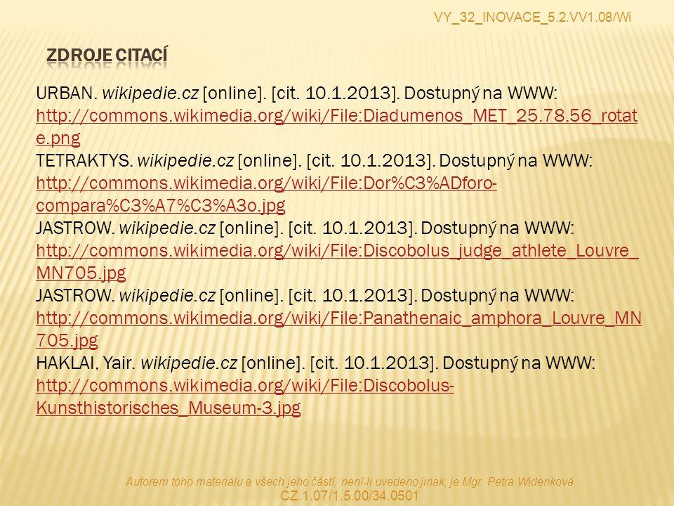 VY_32_INOVACE_5.2.VV1.08/Wi Zdroje citací.