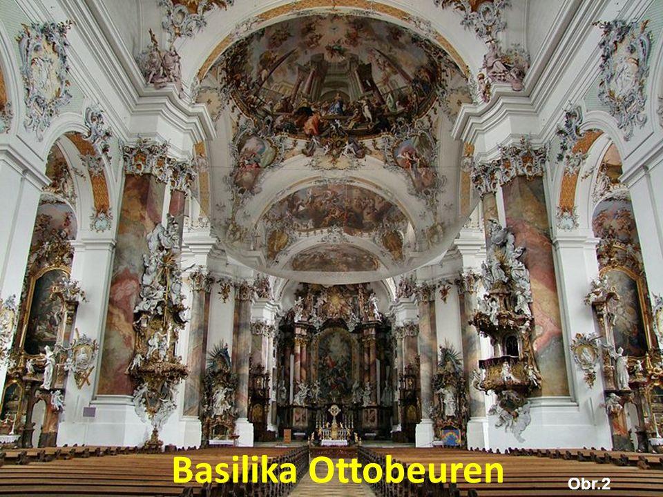 Basilika Ottobeuren Obr.2