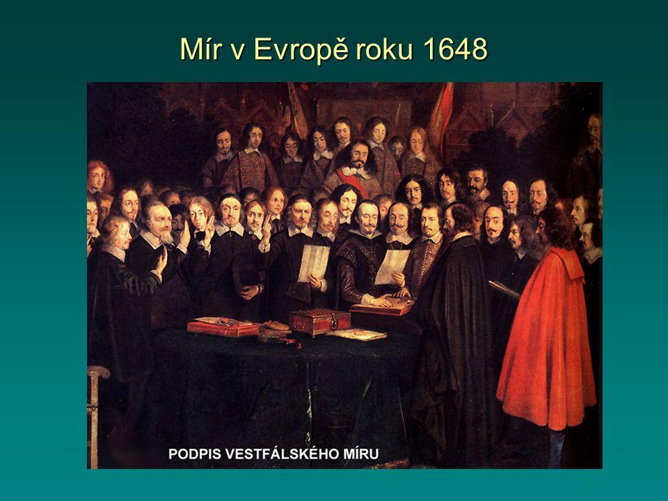 Mír v Evropě roku 1648