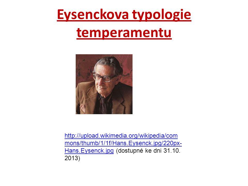 Eysenckova typologie temperamentu