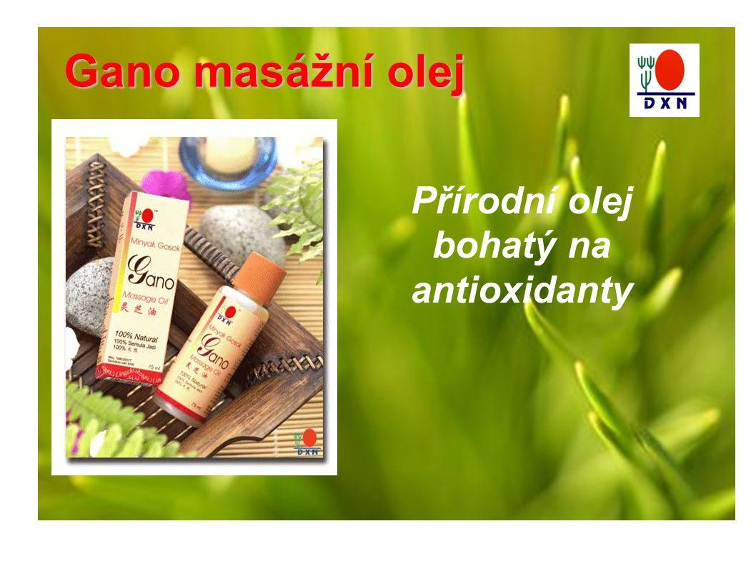 Přírodní olej bohatý na antioxidanty