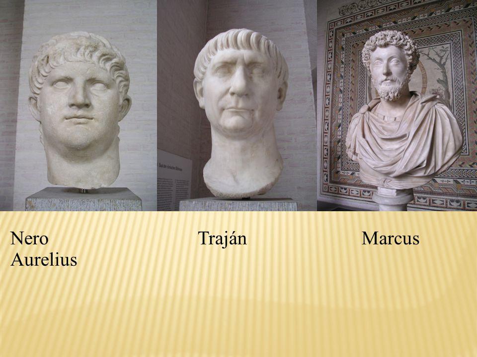 Nero Traján Marcus Aurelius