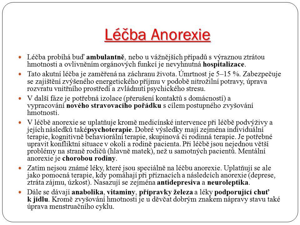 Léčba Anorexie
