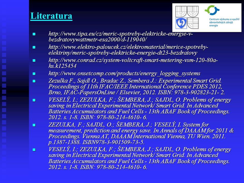 Literatura http://www.tipa.eu/cz/meric-spotreby-elektricke-energie-v-bezdratovywattmetr-esa2000/d-119040/