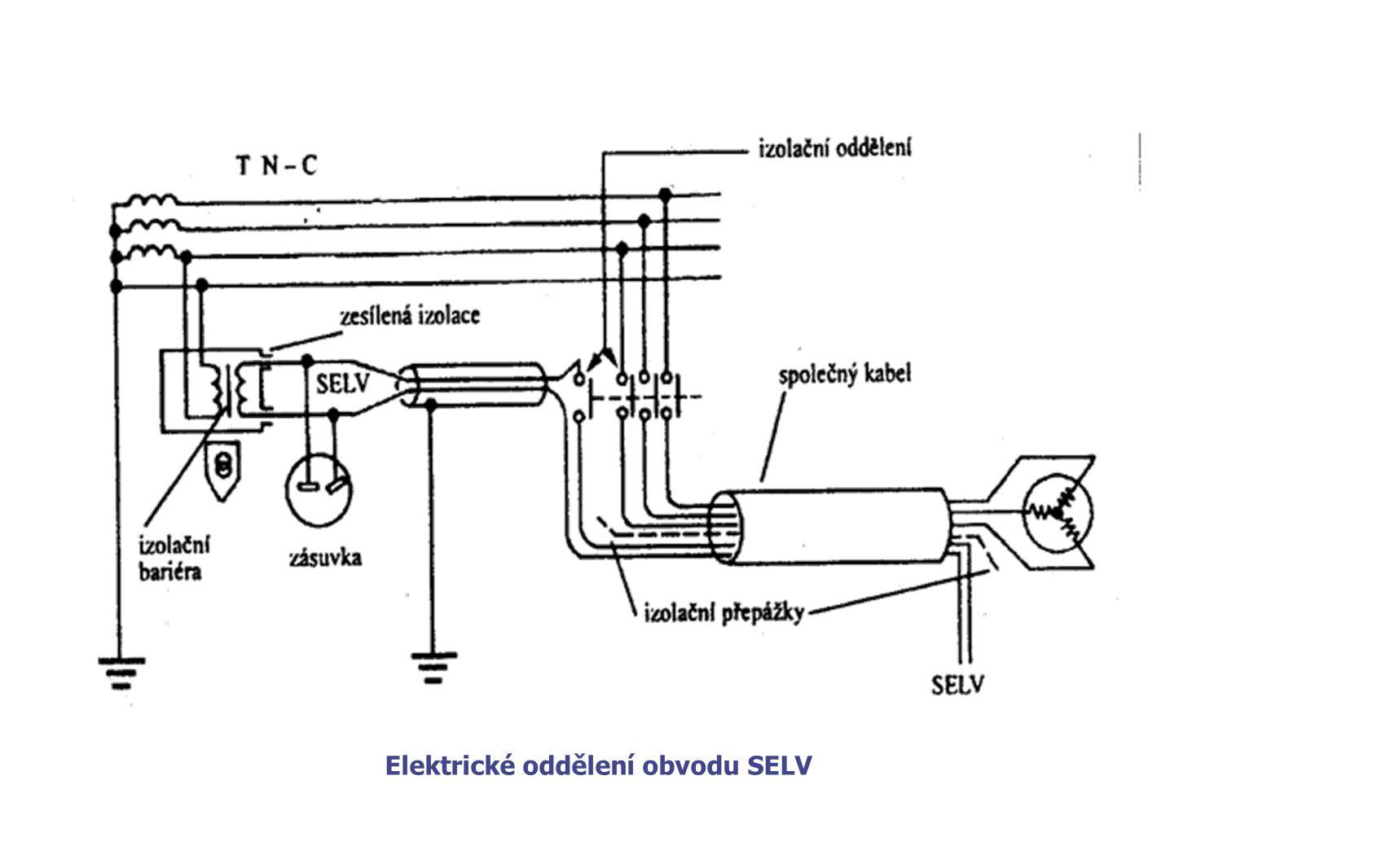 Elektrické oddělení obvodu SELV