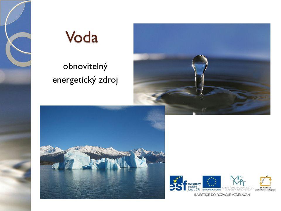 obnovitelný energetický zdroj