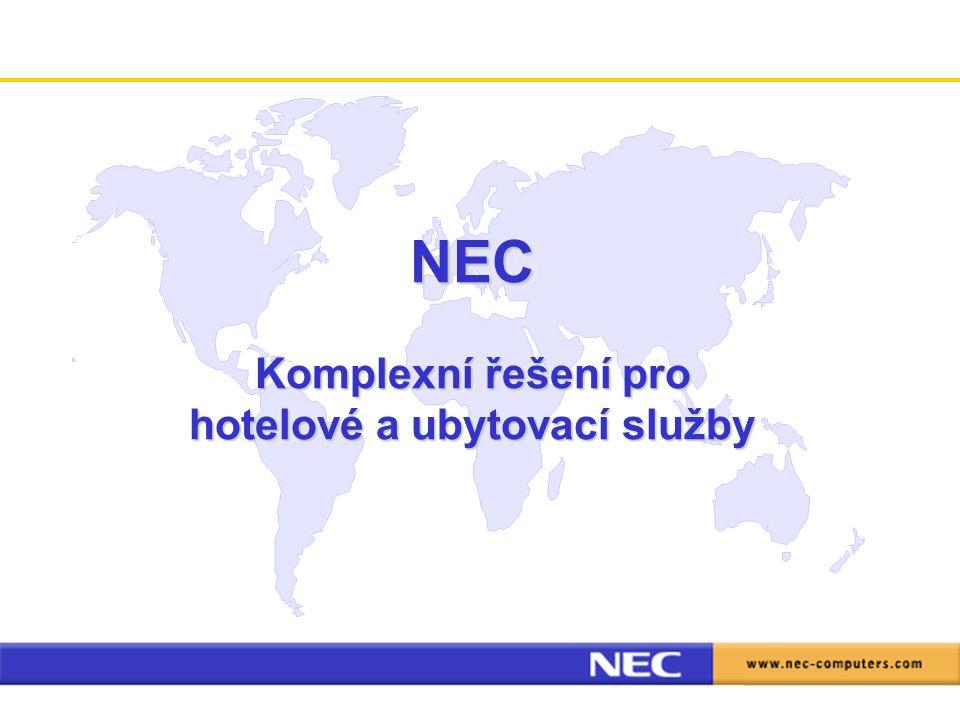 NEC Komplexní řešení pro hotelové a ubytovací služby