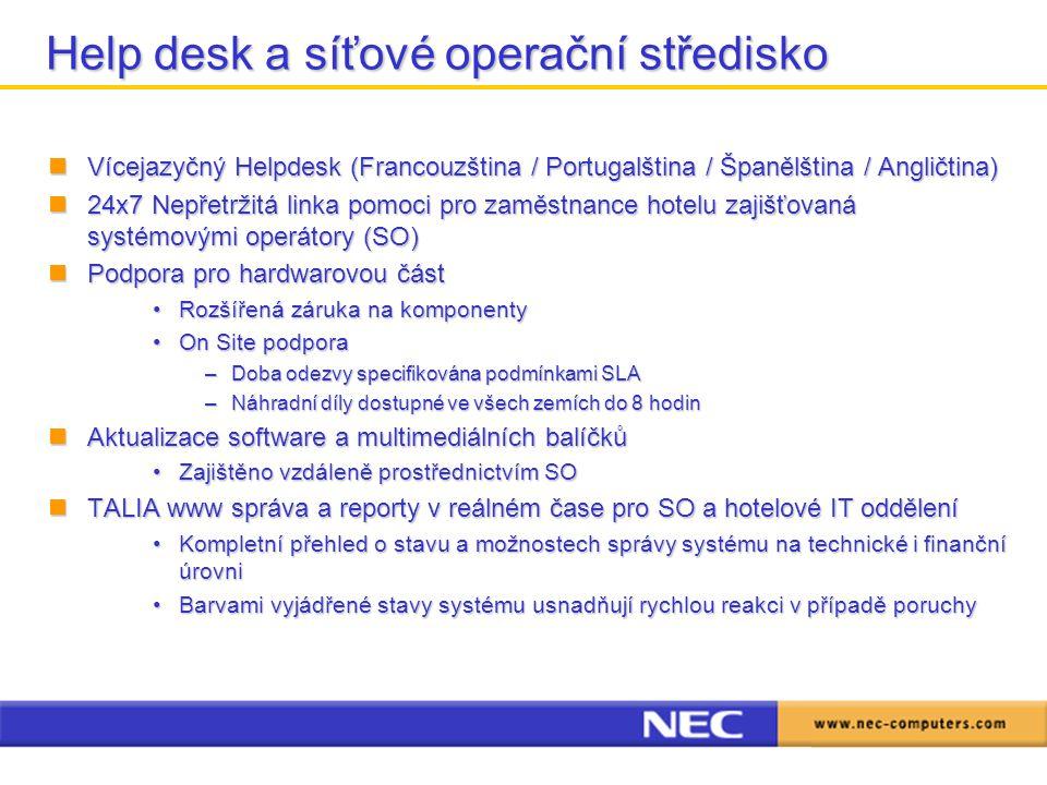 Help desk a síťové operační středisko