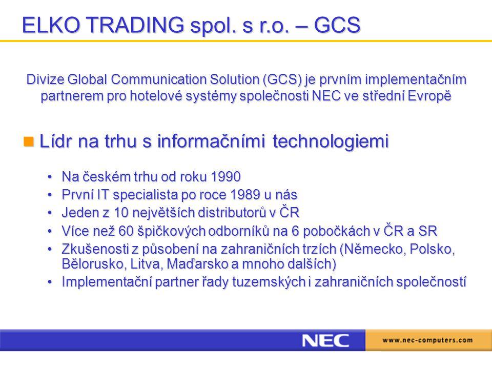 ELKO TRADING spol. s r.o. – GCS