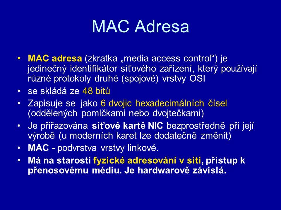 MAC Adresa