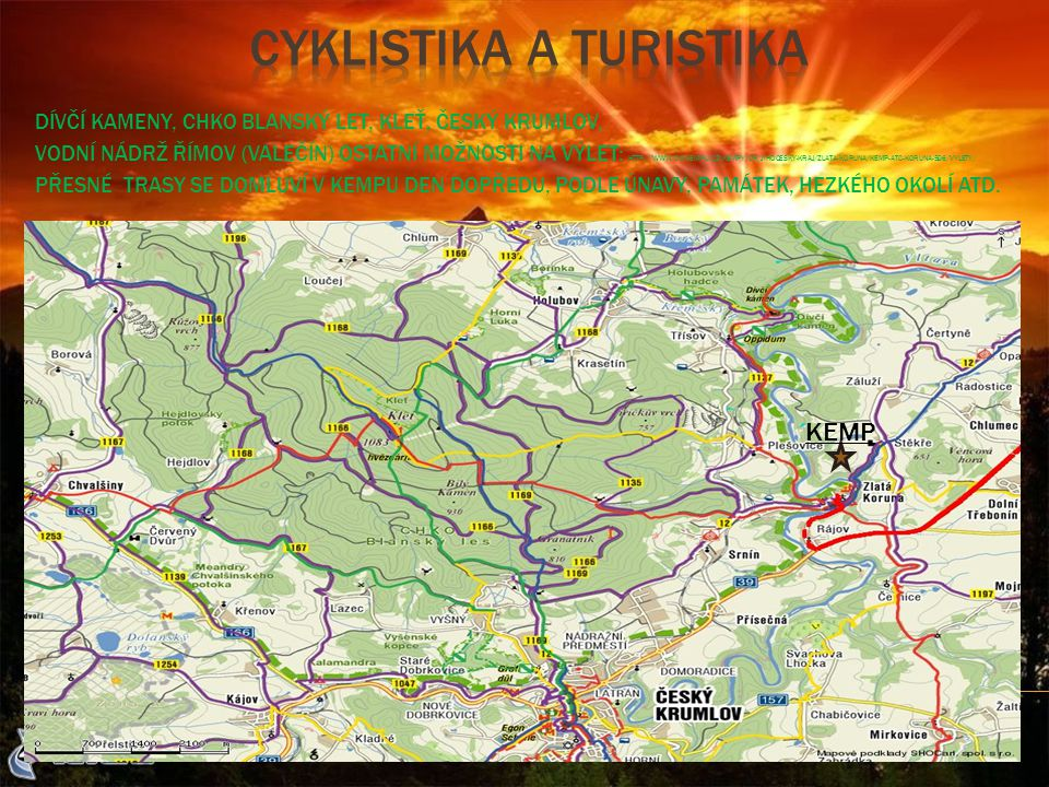 Cyklistika a turistika