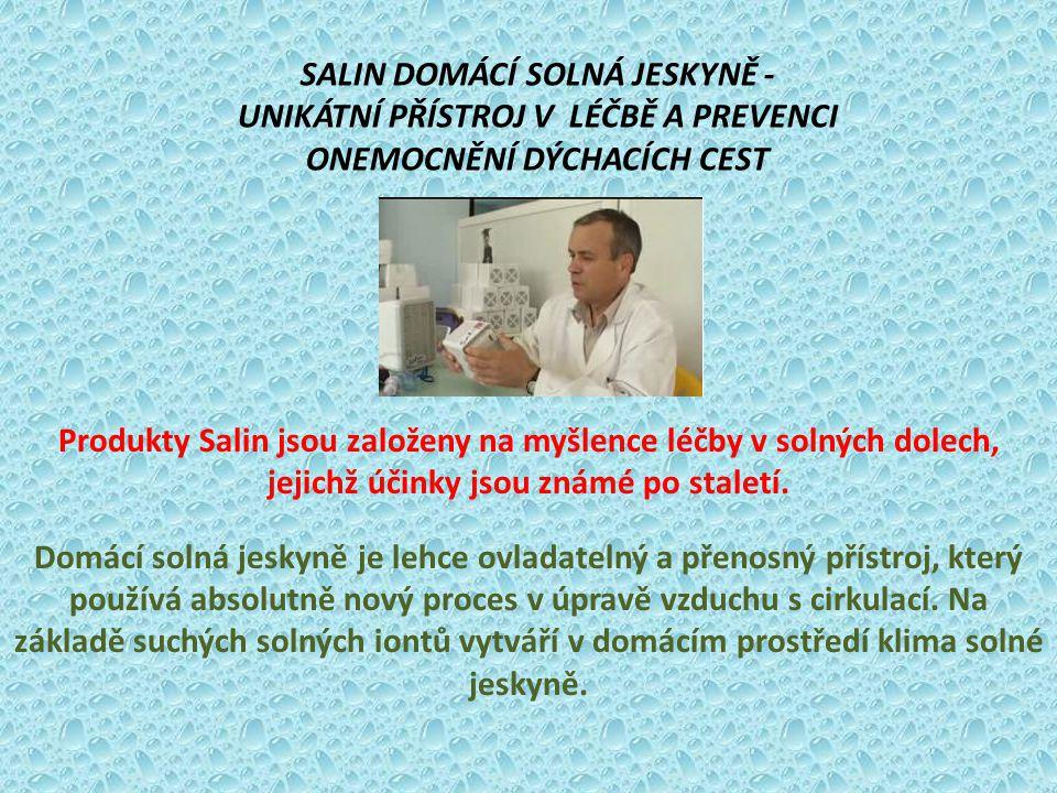 SALIN DOMÁCÍ SOLNÁ JESKYNĚ -