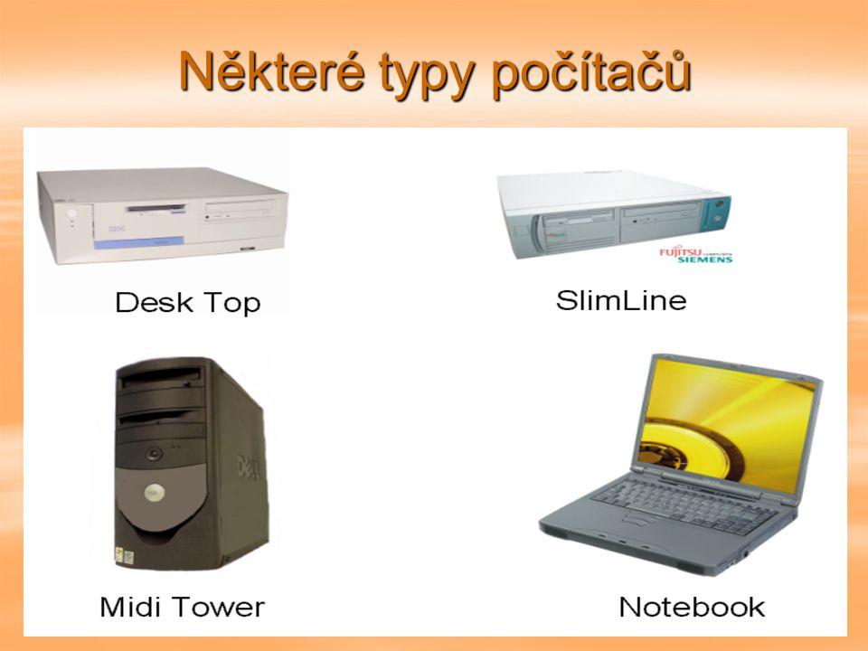 Některé typy počítačů