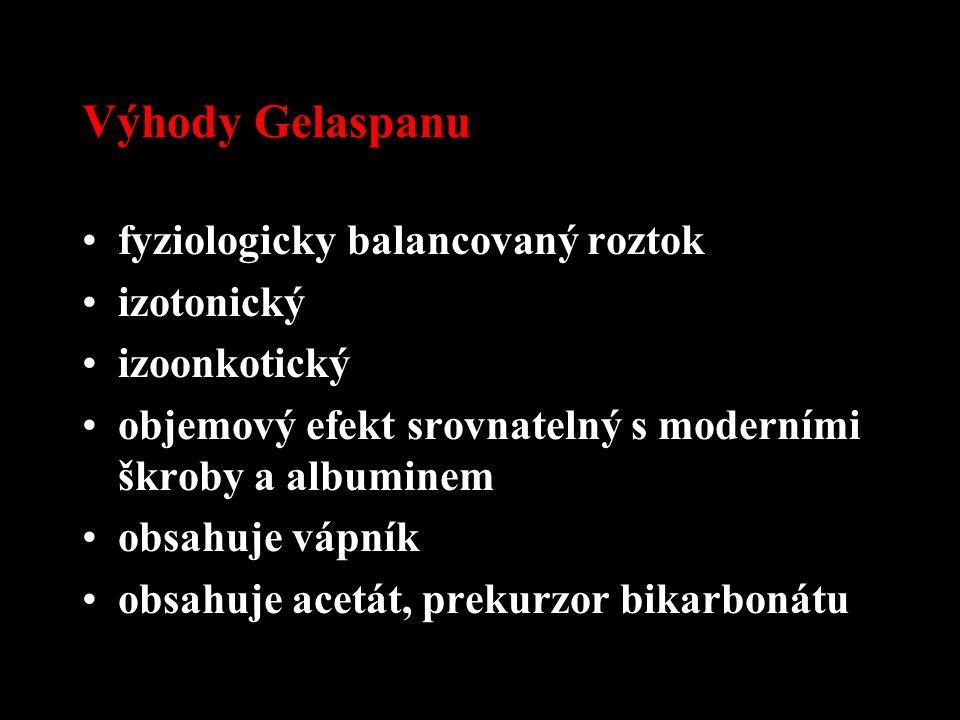 Výhody Gelaspanu fyziologicky balancovaný roztok izotonický