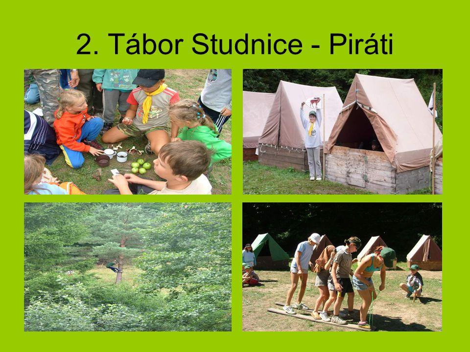 2. Tábor Studnice - Piráti