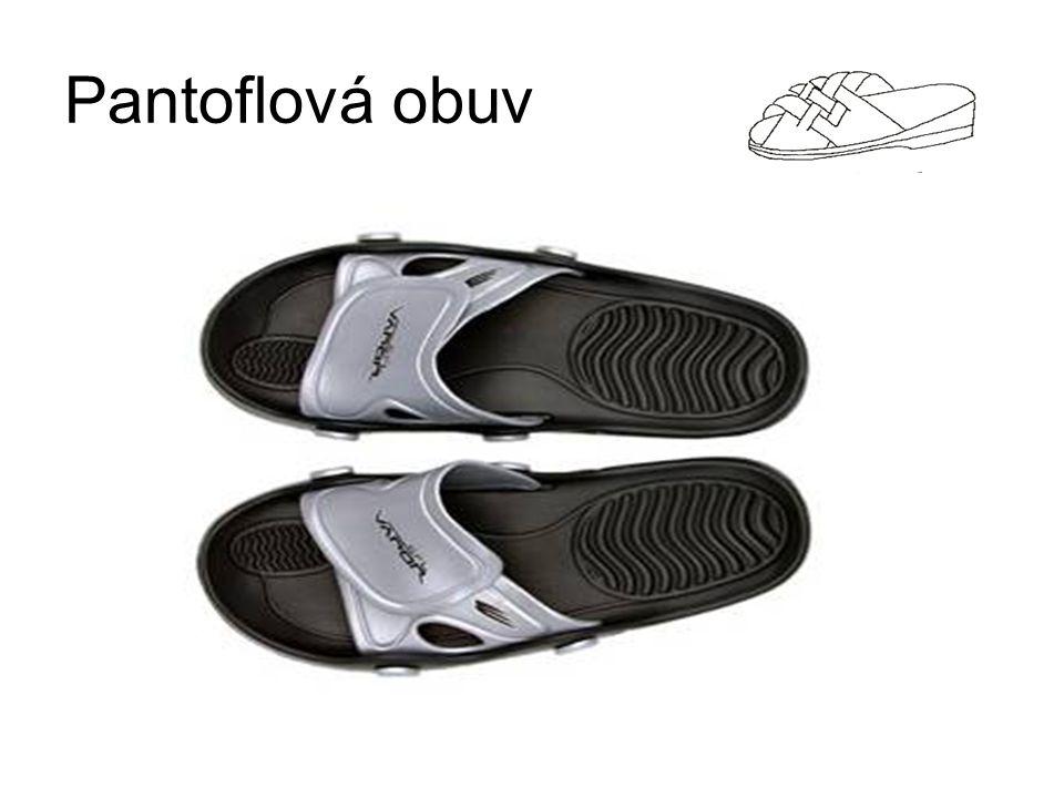 Pantoflová obuv