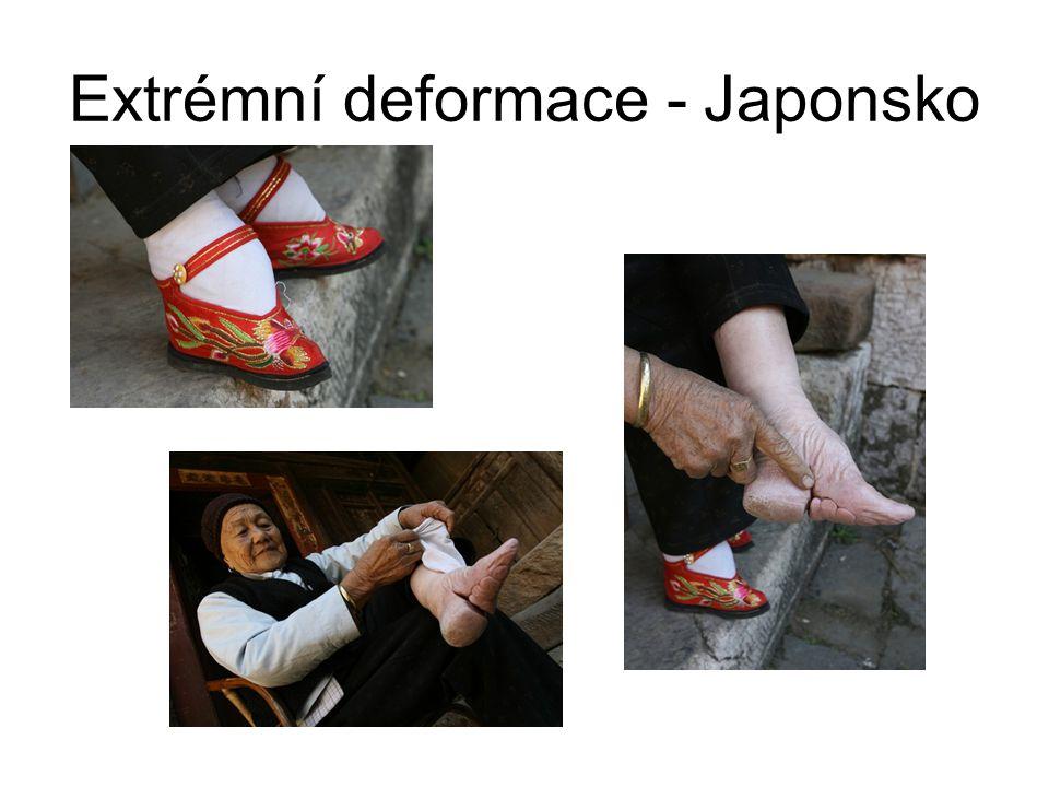 Extrémní deformace - Japonsko
