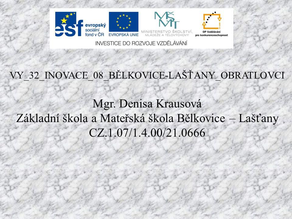 Základní škola a Mateřská škola Bělkovice – Lašťany