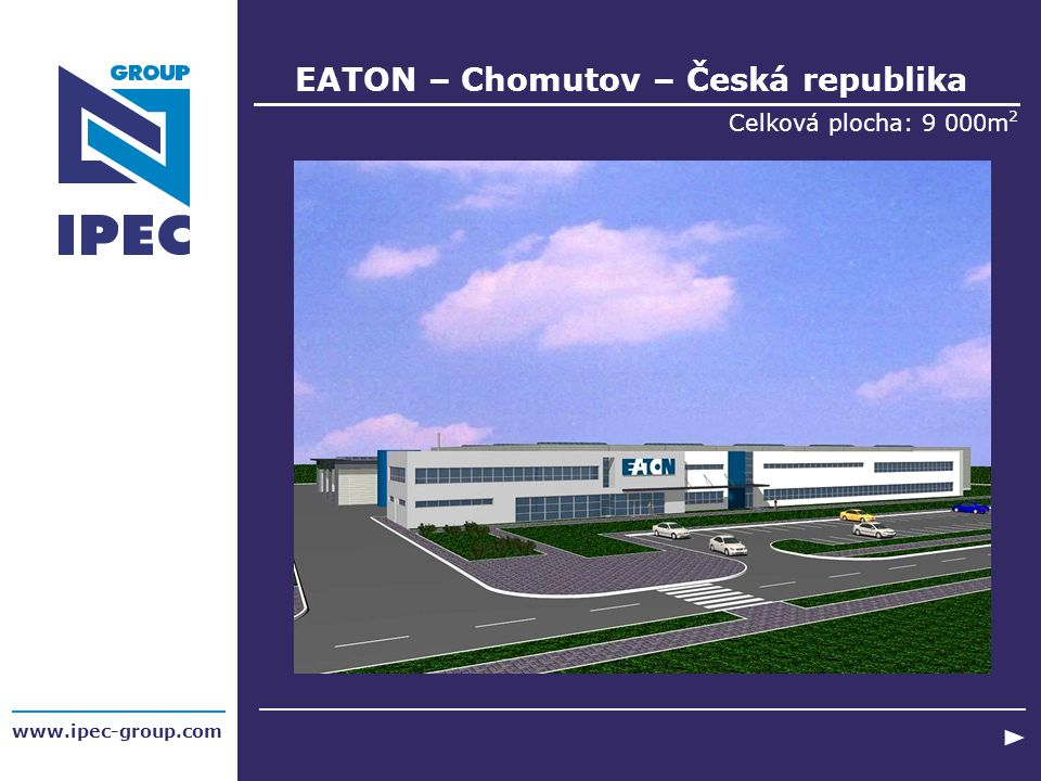 EATON – Chomutov – Česká republika