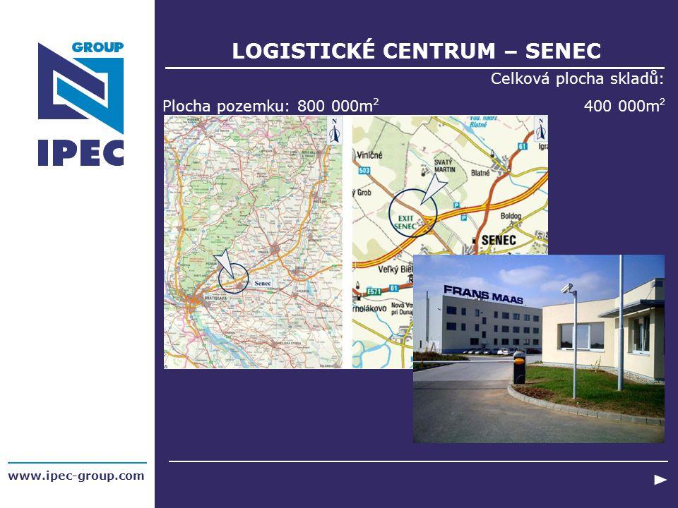 LOGISTICKÉ CENTRUM – SENEC