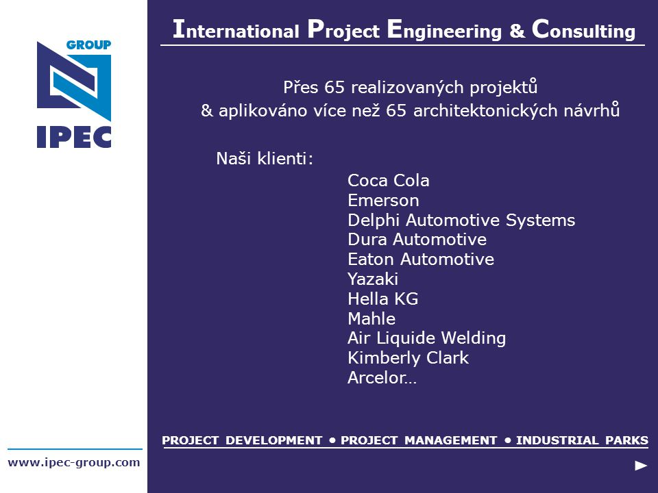 International Project Engineering & Consulting