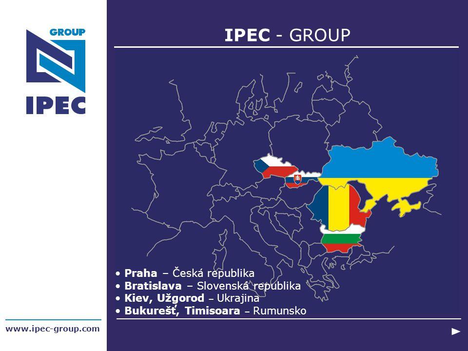 IPEC - GROUP Praha – Česká republika Bratislava – Slovenská republika