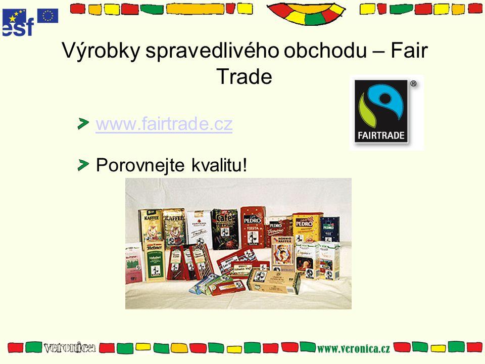 Výrobky spravedlivého obchodu – Fair Trade