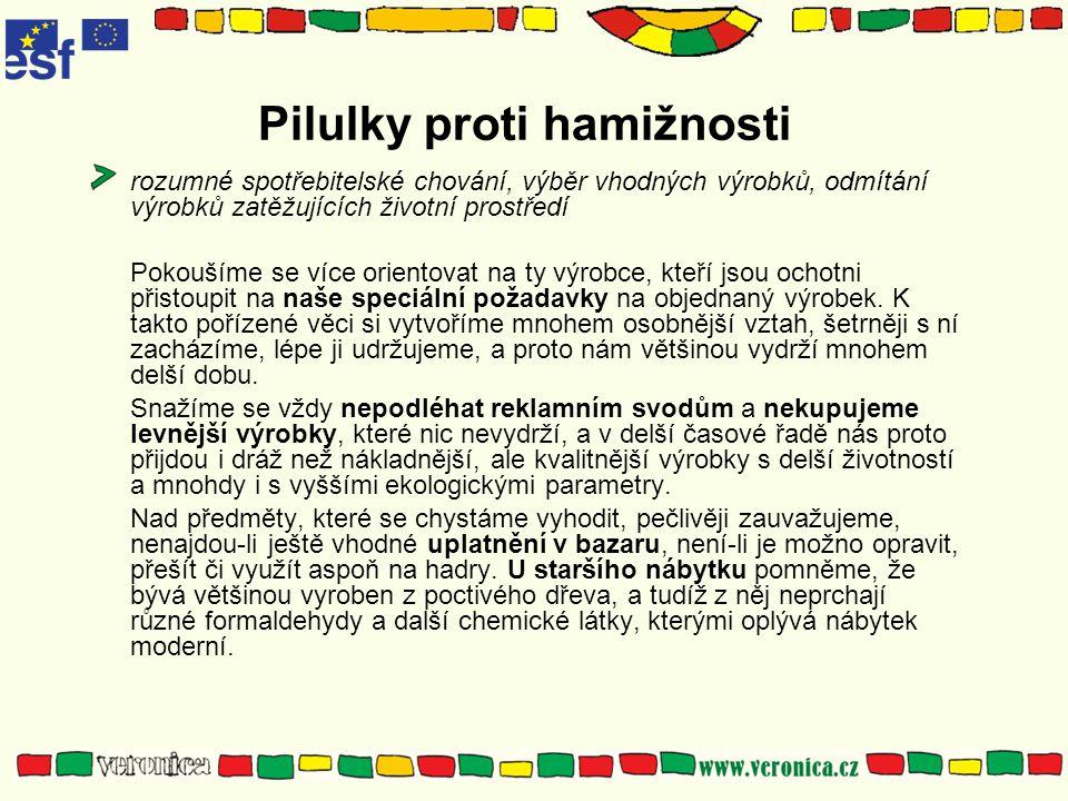Pilulky proti hamižnosti