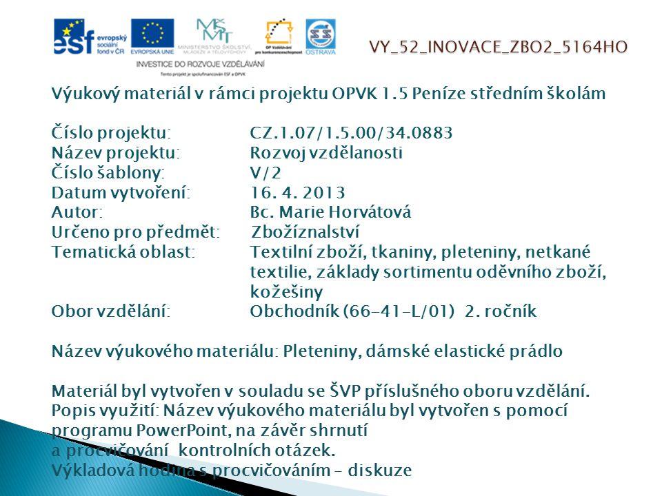 VY_52_INOVACE_ZBO2_5164HO
