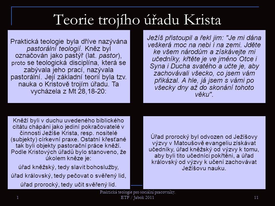 Teorie trojího úřadu Krista