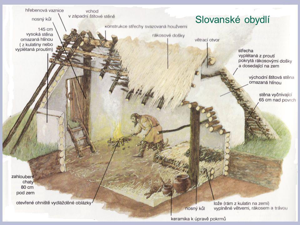 Slovanské obydlí