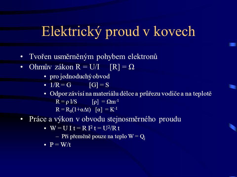 Elektrický proud v kovech