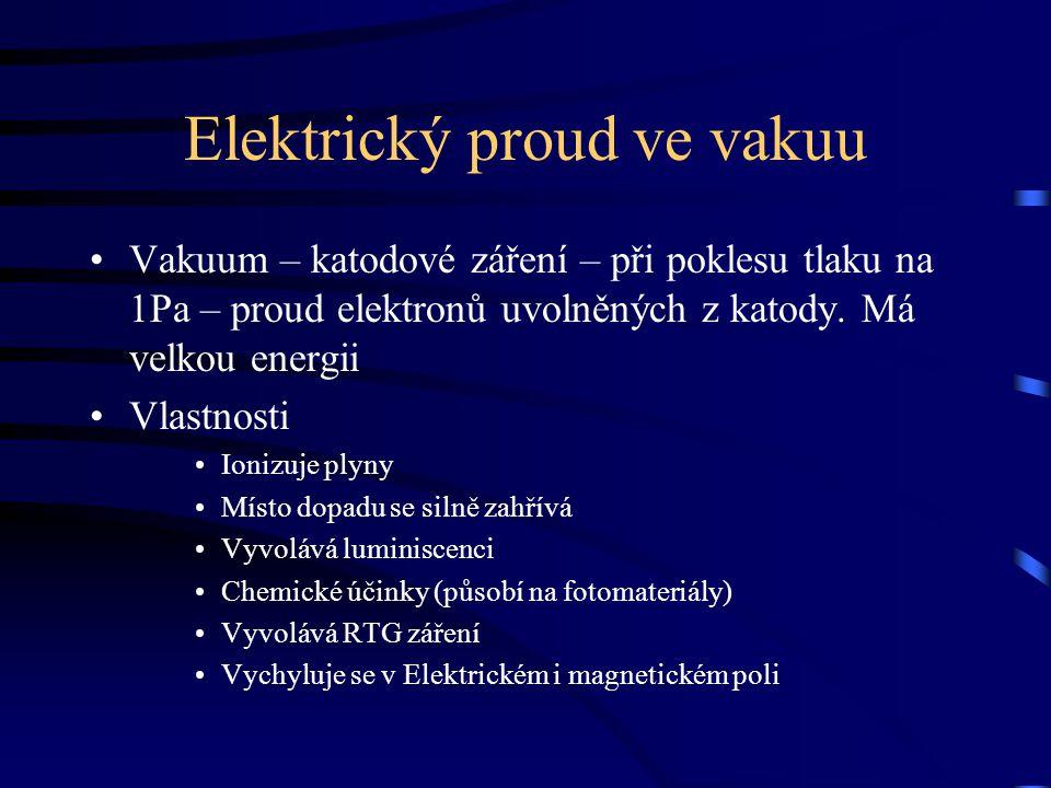Elektrický proud ve vakuu