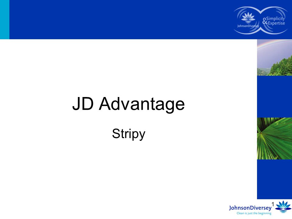JD Advantage Stripy