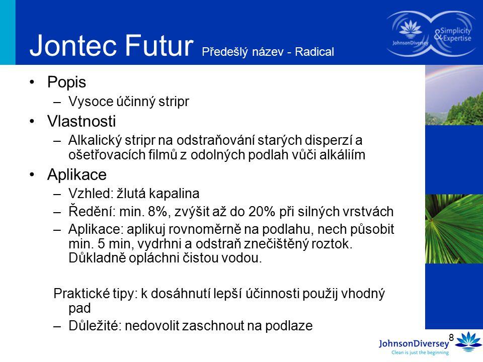 Jontec Futur Předešlý název - Radical
