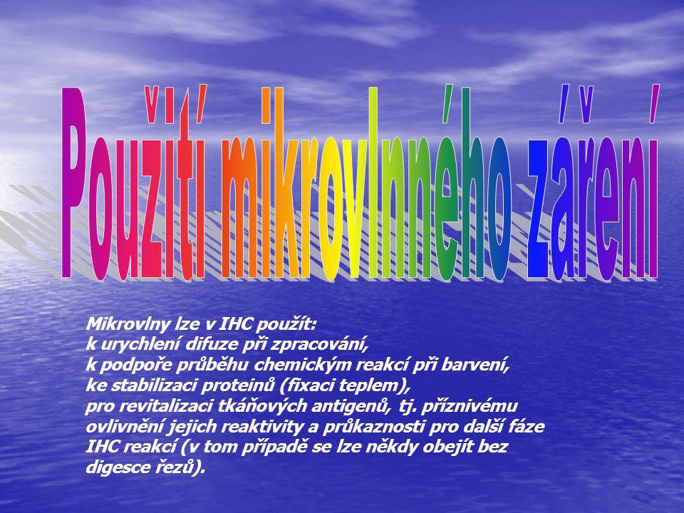 Použití mikrovlnného záření