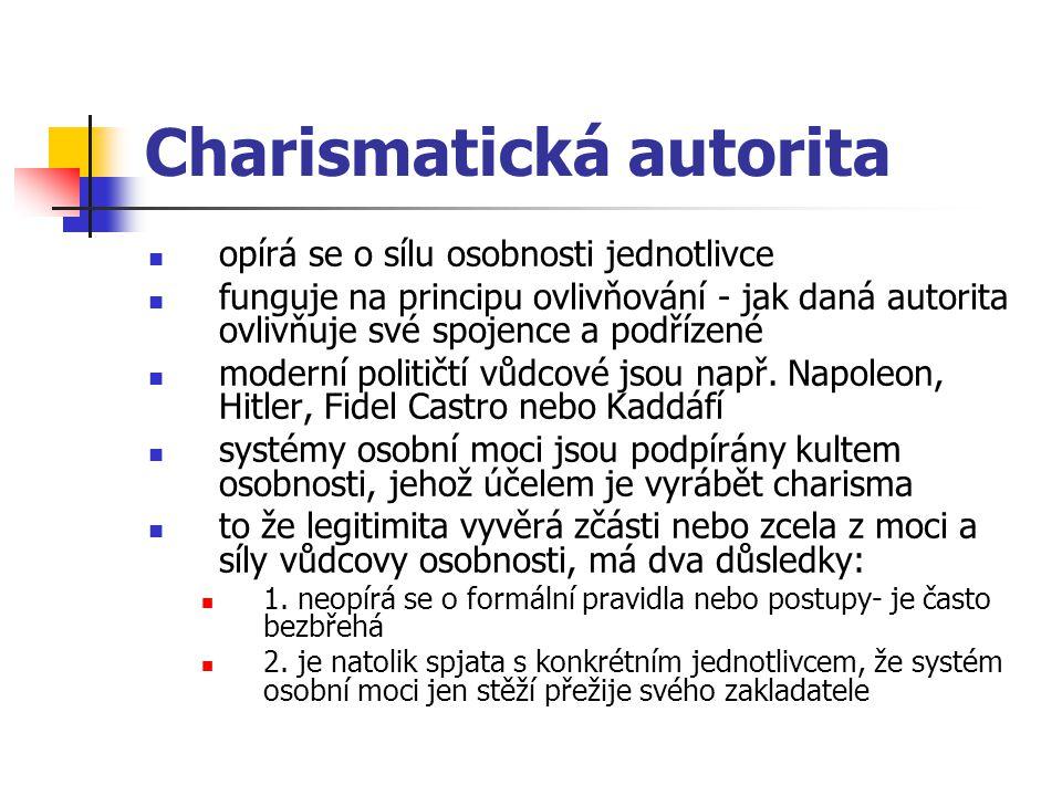 Charismatická autorita