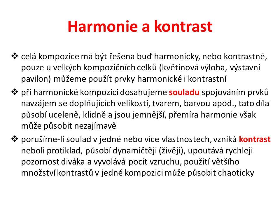 Harmonie a kontrast
