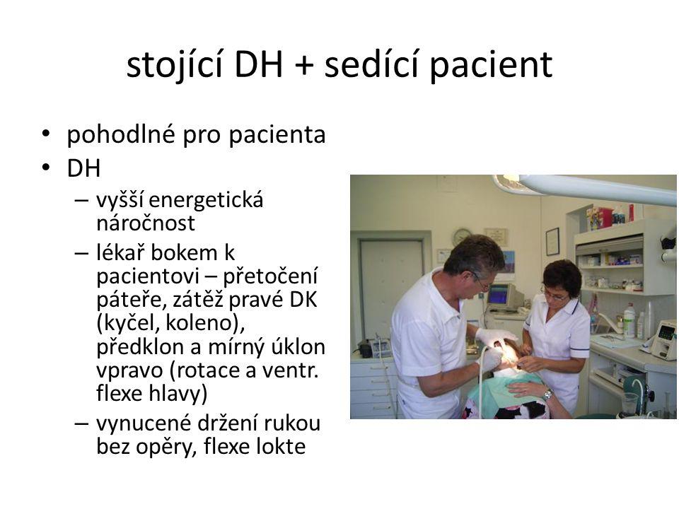 stojící DH + sedící pacient