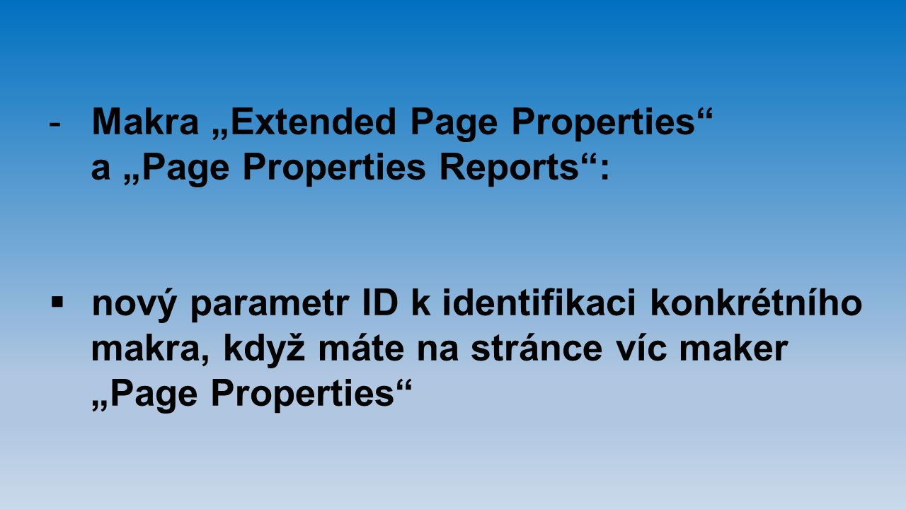 "Makra ""Extended Page Properties"