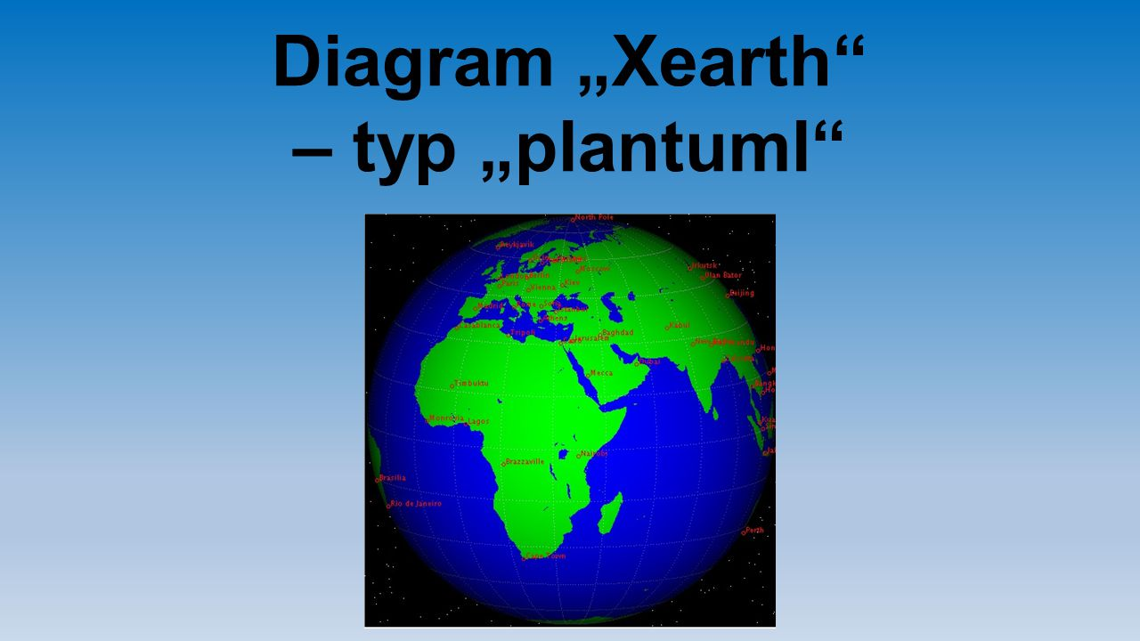 "Diagram ""Xearth – typ ""plantuml"