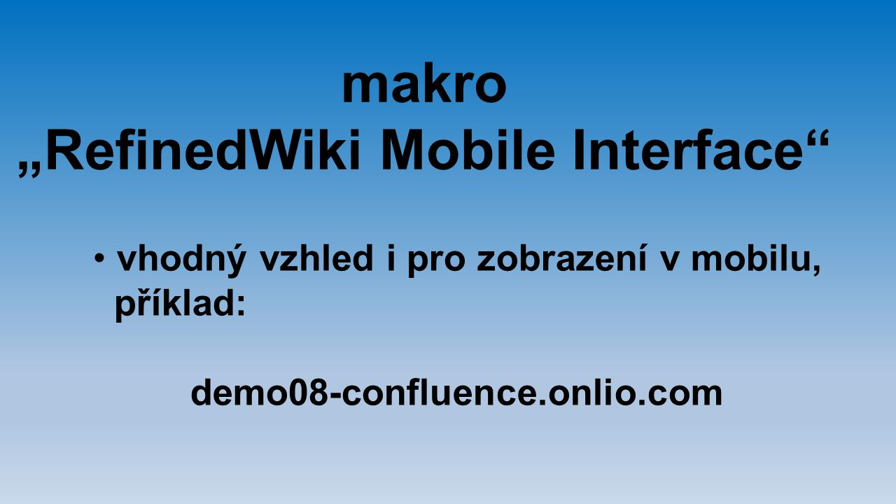 """RefinedWiki Mobile Interface"