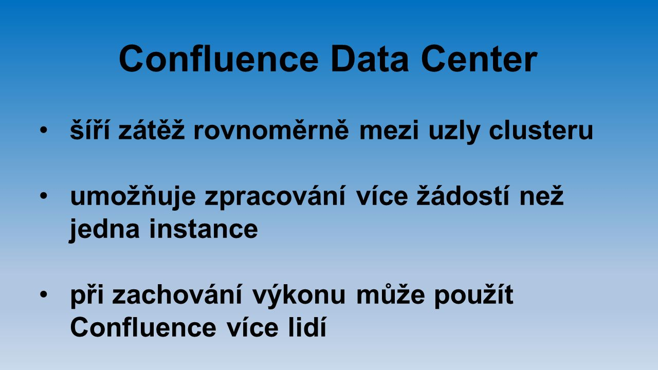 Confluence Data Center