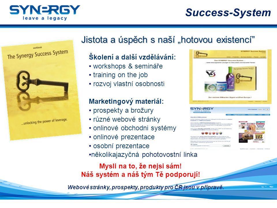 """Success-System Jistota a úspěch s naší """"hotovou existencí"""