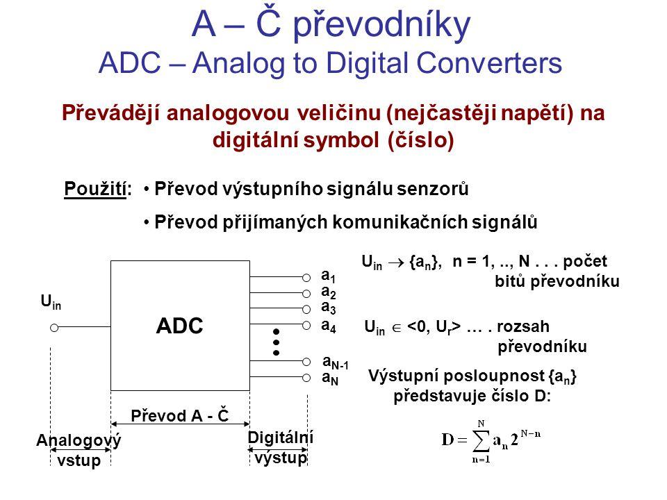Výstupní posloupnost {an} představuje číslo D: