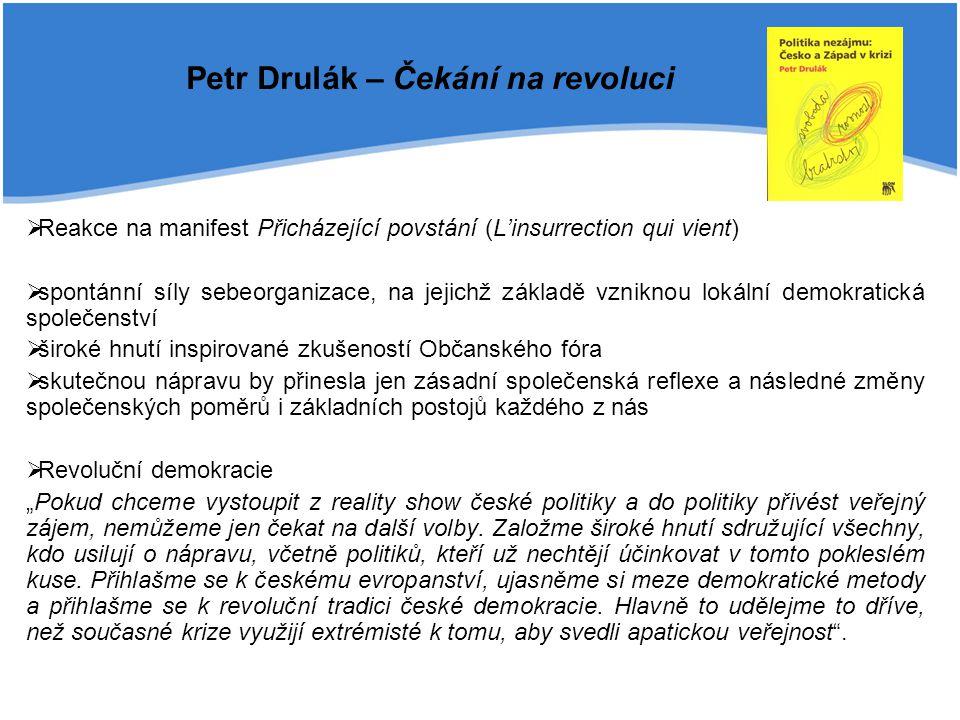 Petr Drulák – Čekání na revoluci