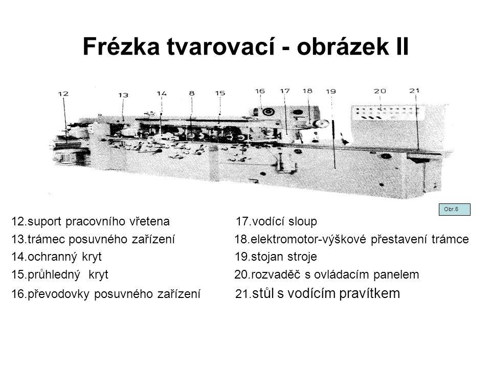 Frézka tvarovací - obrázek II