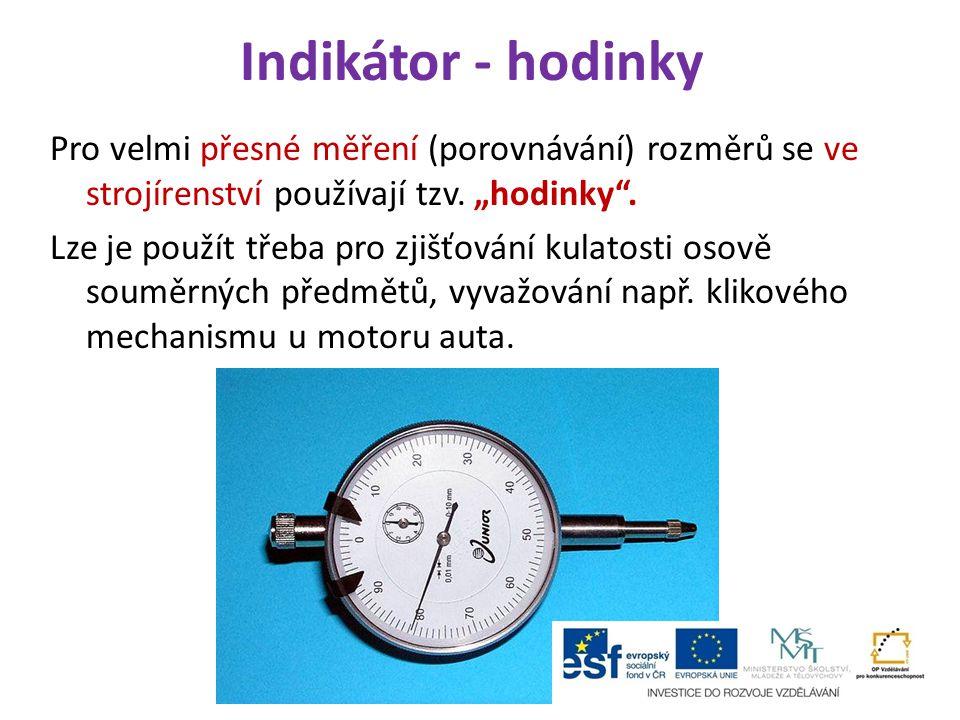 Indikátor - hodinky