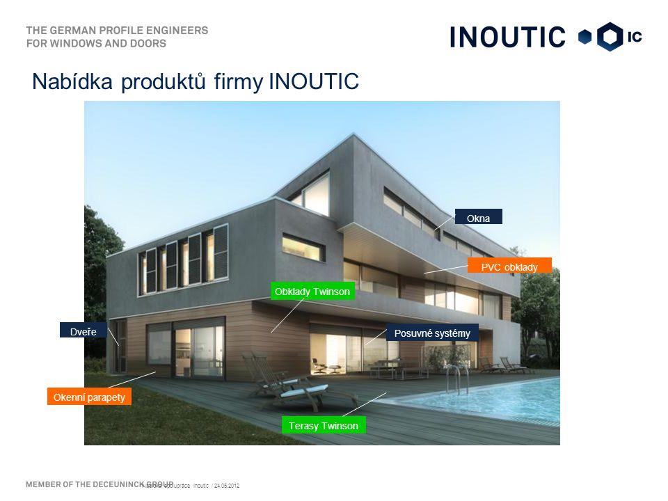 Nabídka produktů firmy INOUTIC