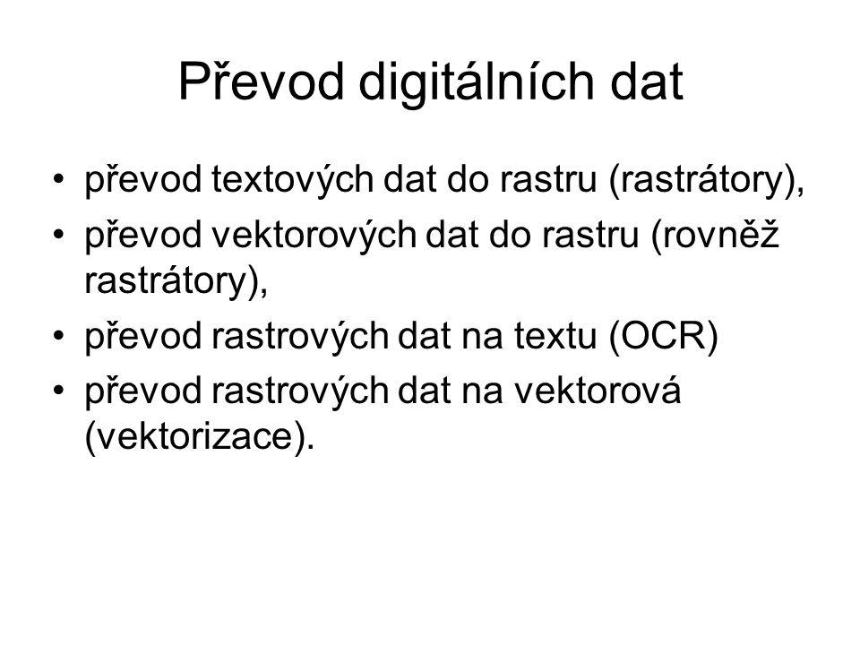 Převod digitálních dat